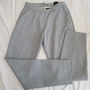 H&M Grey Ankle Trouser Pants Size 2